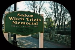 salem witch trials sign