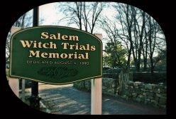 salem witch trials sign
