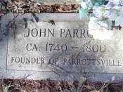 John Parrott DAR