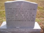 Thomas Divine back tombstone