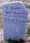 Thomas Divine tombstone