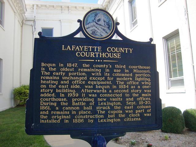 Lexington MO Courthouse