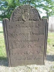 Capt George Denison son 1772