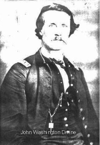 John Washington Divine - doctor - Civil War in uniform