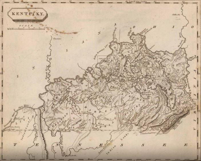 1804 Map Kentucky
