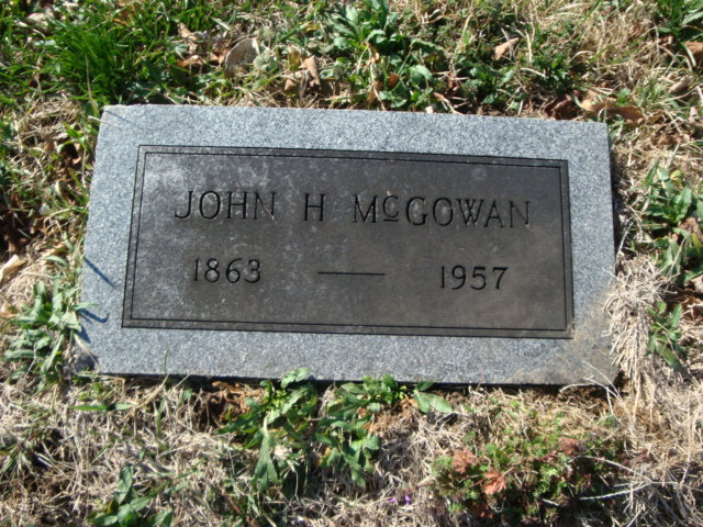 John Henry McGowan 2xGGrandpa