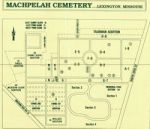 Machpelah Cemetery map