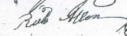 Richard Allen Signature
