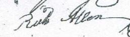 Richard Allen Signature