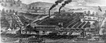 Salt furnaces 1800s