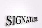 Signature 3D Word