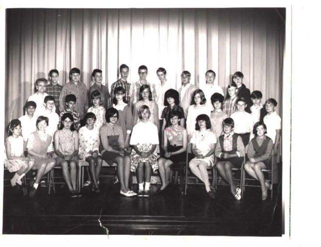 Class photo 1968