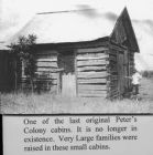 peters colony cabin