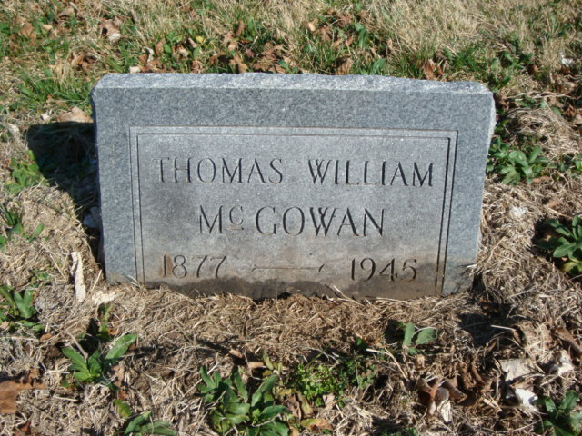 Thomas William McGowan Cousin