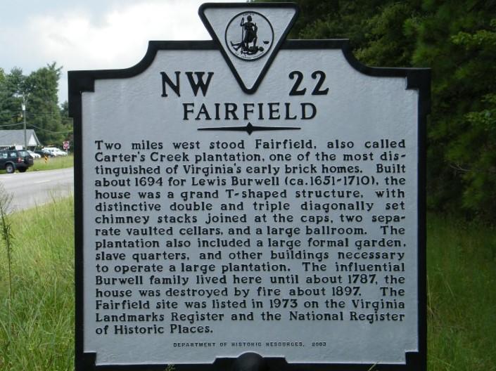 fairfield-plantation-historical-marker 2