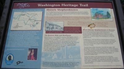 George Washington Heritage Trail Marker