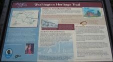 George Washington Heritage Trail Marker
