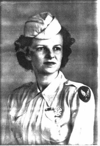 Ada Millburn Divine WWII Photo
