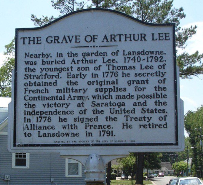 Arthur Lee sign
