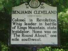 Benjamin Cleveland sign