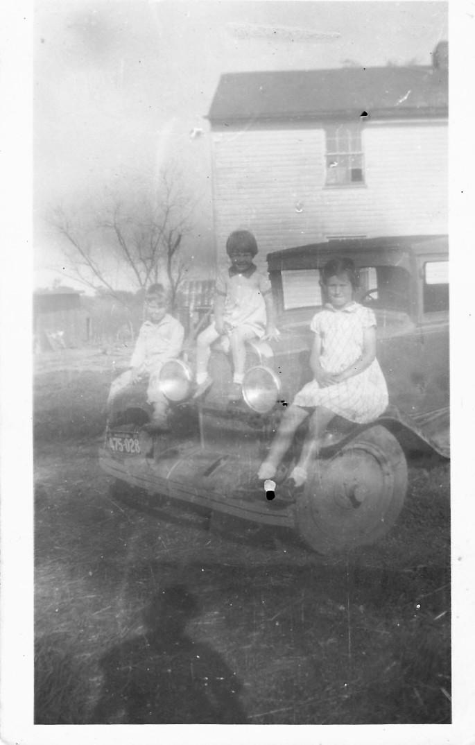 Charlene, Thelma, James Allen Hughes Uncle Orvilles Kids enhanced