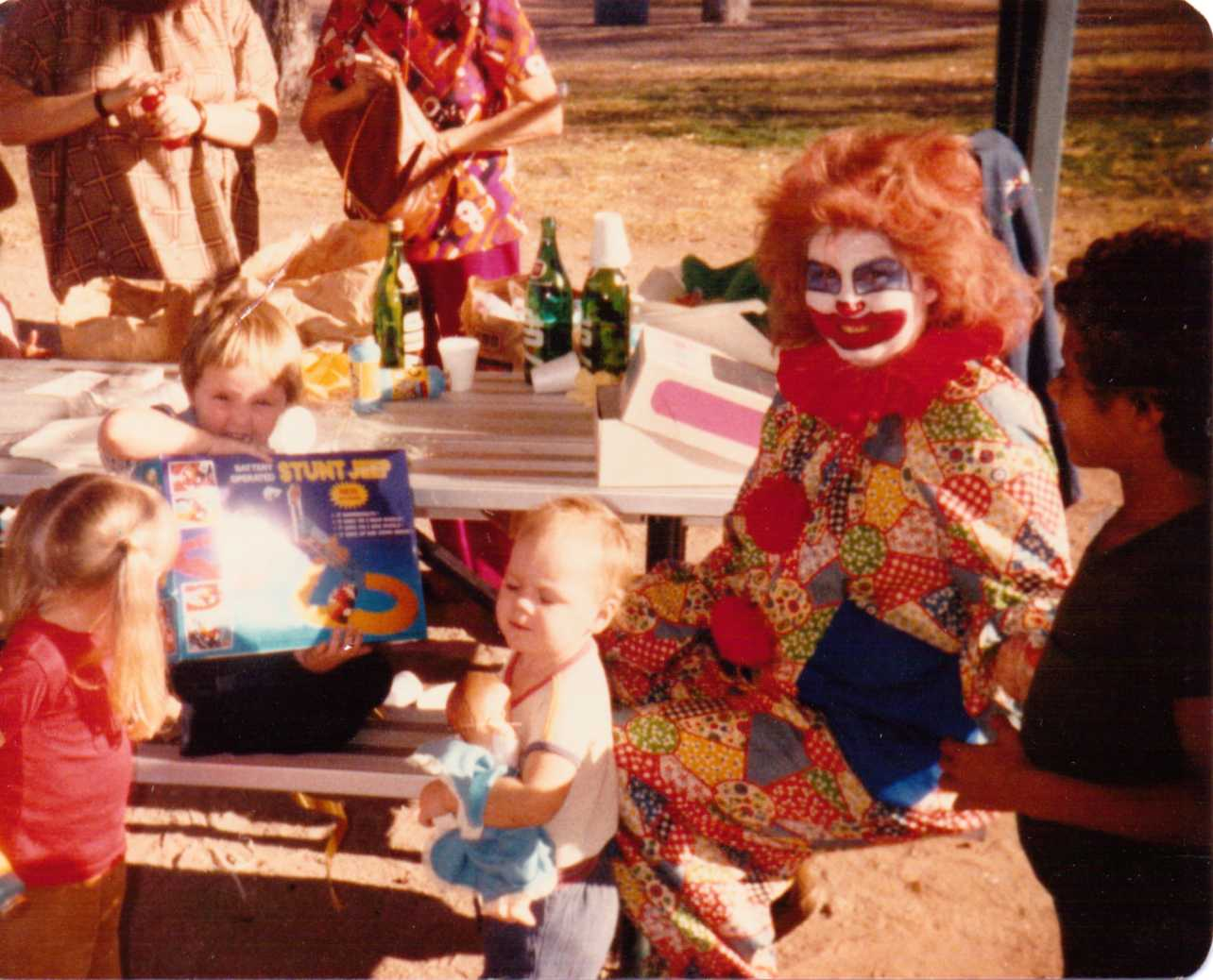 me as clown