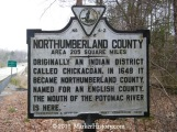 z-4 northumberland county Marker