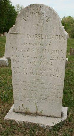 Alsey Isabel Hardin HS
