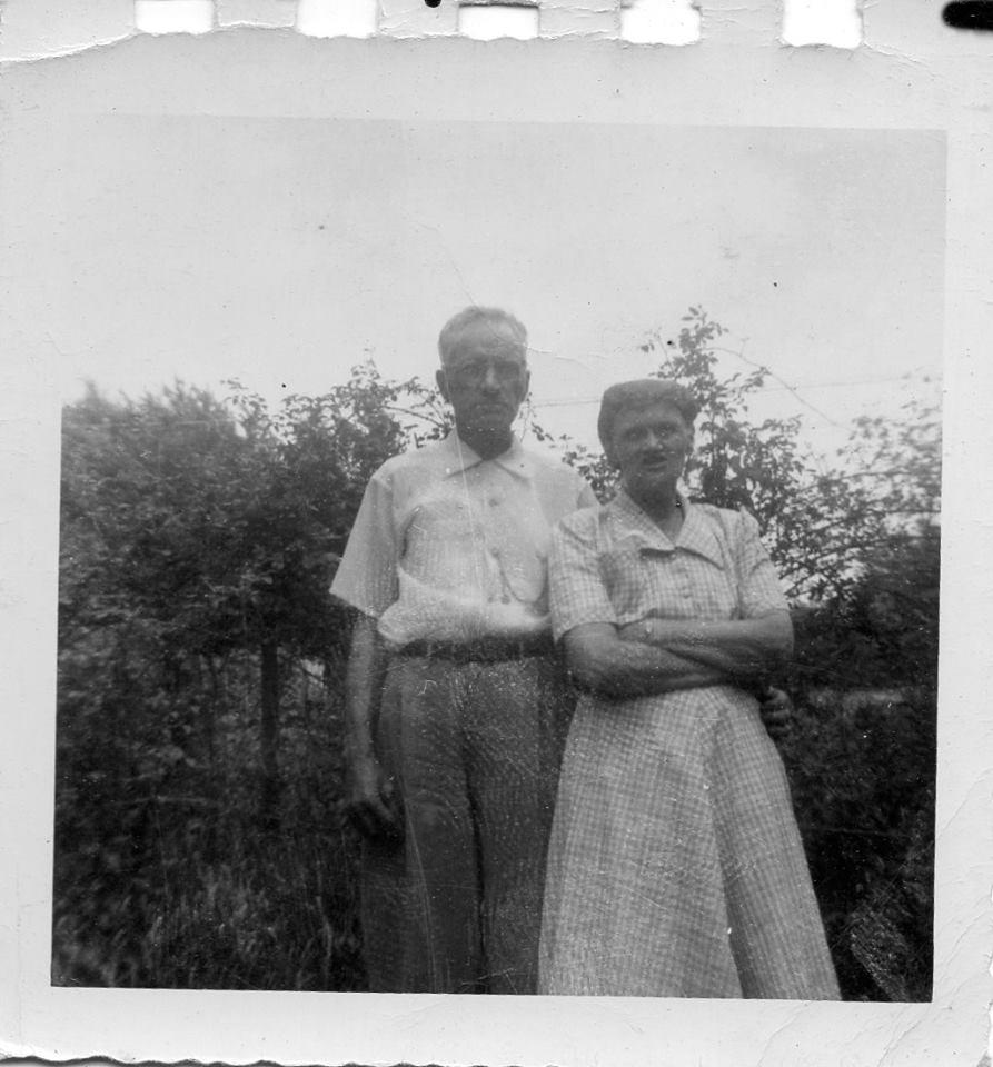 Grandpa Smith & Nellie