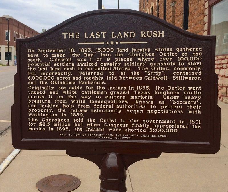 Last land rush 1893