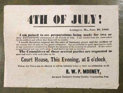 lexington 4th of July 1865