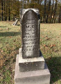 Mary E Hardin Wilkerson 1819-1857