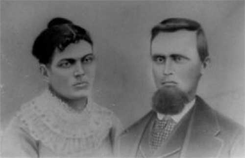 William Hamilton Hayes & Sarah Cornelia Hayes pc