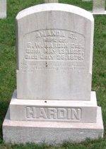 Amanda E. King Hardin 1827-1879