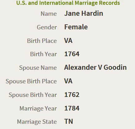 Jane Hardin