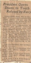 Norman Miles Sims WWII newspaper 3