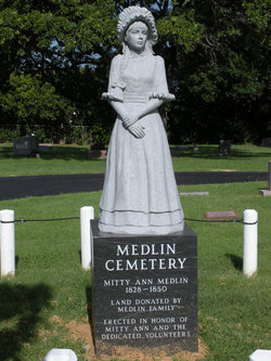 Permalia Ann Mitty Medlin 1828-1850