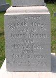 Sarah Hope Hardin 1821-1895