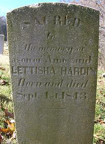 Son of Hardin 1843