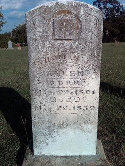 Thomas J Allen 1801-1852
