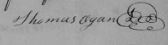 Thomas Ogan Marriage Bond Sept 1803