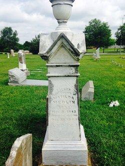 Matilda Allen Medlin 1812-1863