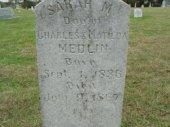 Sarah Mirah Medlin 1836-1867